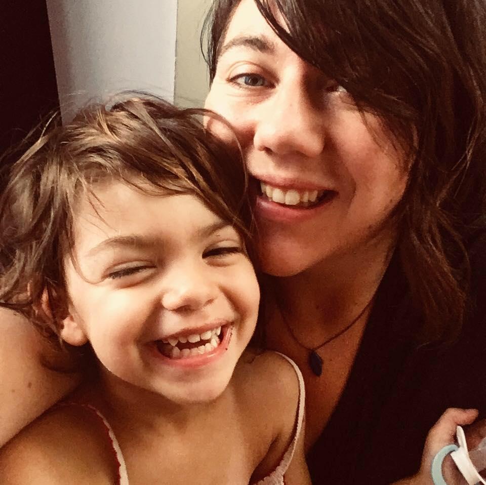 Portrait mère et sa fille
