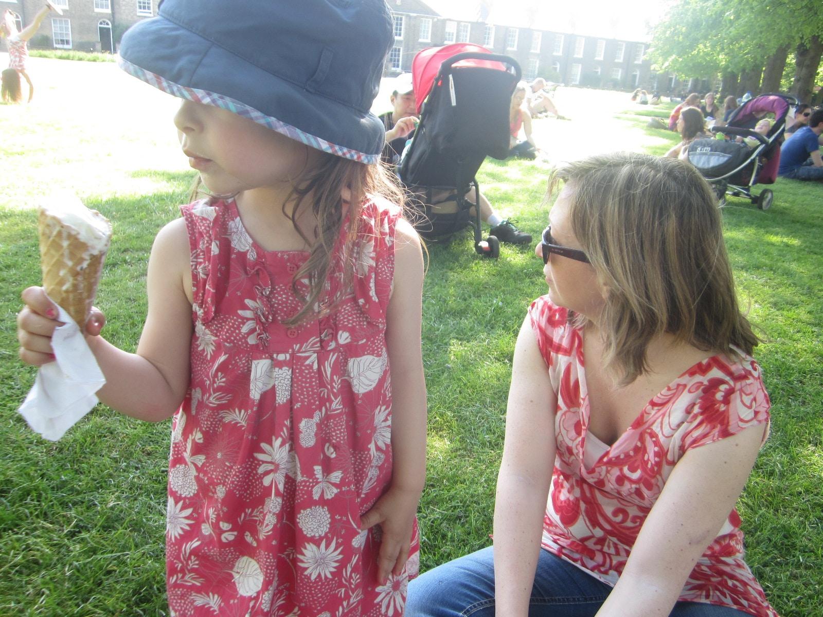Anne Sophie Bazin et sa fille Célia
