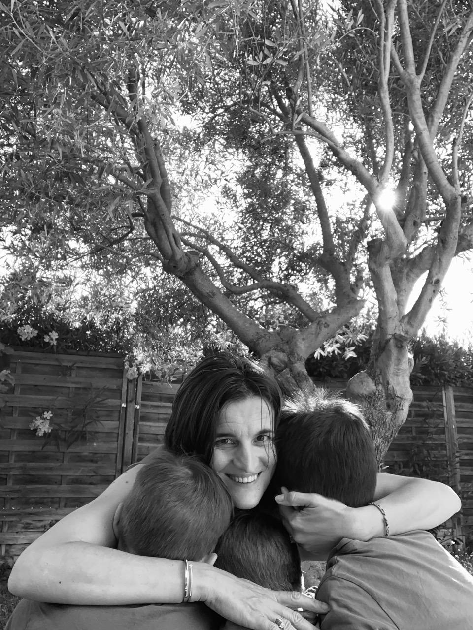 maman de trois enfants